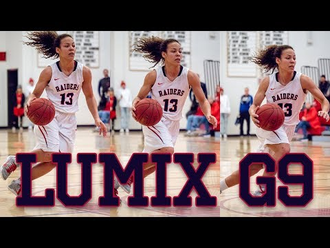 LUMIX G9 Autofocus ►AF-C Tested at a Women's College Basketball Game
