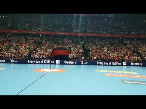 Dalmacijo (Hrvatska - Švedska) | Spaladium 2018 | EHF Euro