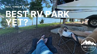 Our favorite RV park so far + the Great Smoky Mountains! | Full time RV Living