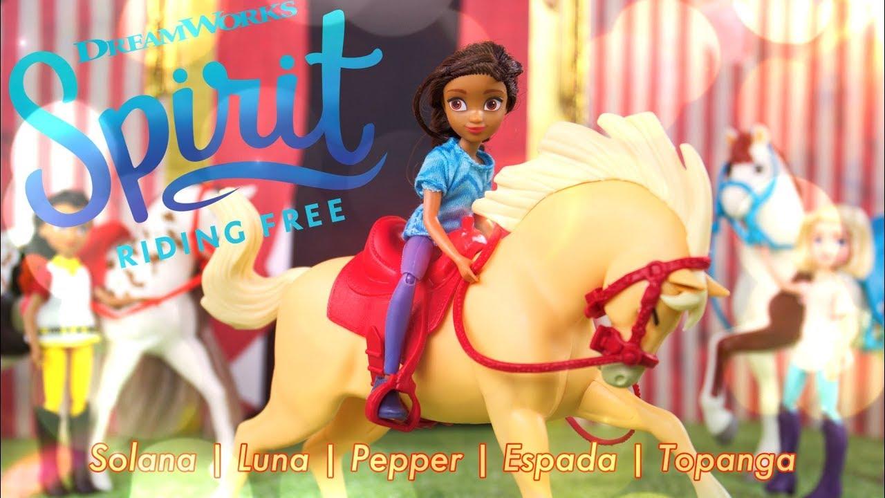 Unbox Daily: ALL NEW Spirit Riding Free Solana & Luna PLUS Pepper   Espada   Topanga