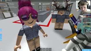 Roblox - Bloxville Prison - Warden Gameplay Part1