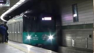 神戸市営地下鉄6000形試乗会、試運転
