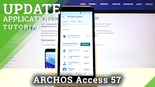 How to Update Apps in ARCHOS Access 57 – Get Newest App Version