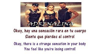 Gambar cover Adrenalina Lyrics English and Spanish - Wisin, Jennifer Lopez, Ricky Martin - Translation