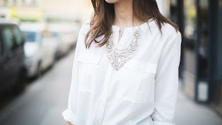 1 Piece - 3 Ways to Wear: White Blouse by s.Oliver