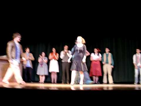 The Falcon Players at FSC - Taking a bow