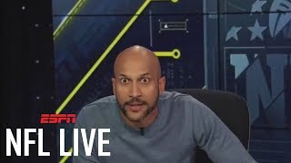 Hingle McCringleberry Not Happy With Antonio Brown Stealing His Move | NFL Live | ESPN