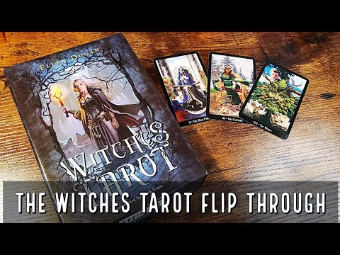 The Witches Tarot | Flip Through and Review