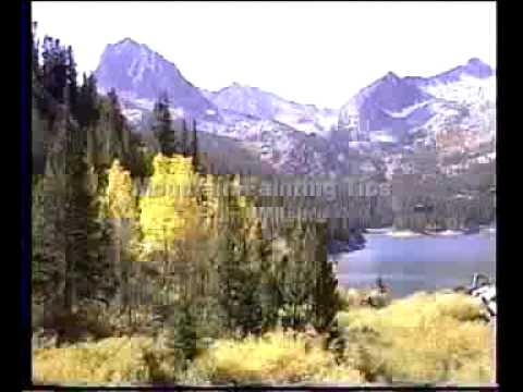 how to paint mountains step by step youtube. Black Bedroom Furniture Sets. Home Design Ideas
