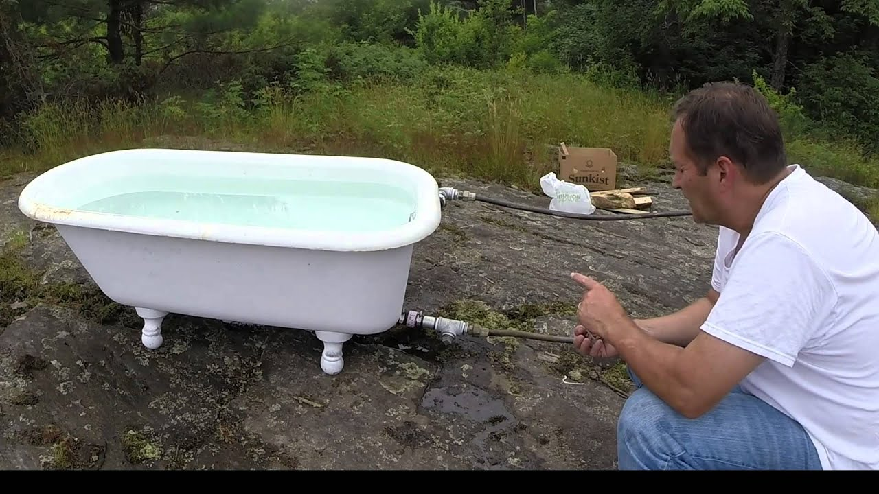 Redneck Hot Tub - GoPro Hero3+ - YouTube