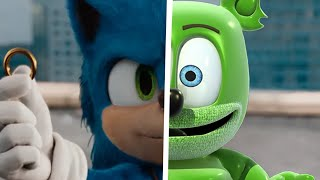 Sonic The Hedgehog Movie Choose Your Favorite Desgin For Both Characters (Gummy Bear Vs Sonic) 2
