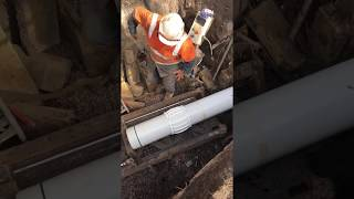 hd 30 in open bore on pvc for gravity sewer in victoria ld microtunnelling movie 1