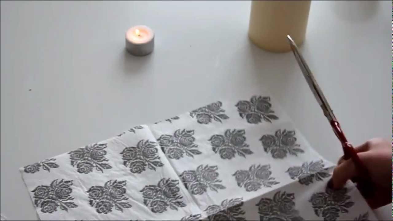 DIY | Skræddersy Dine Stearinlys