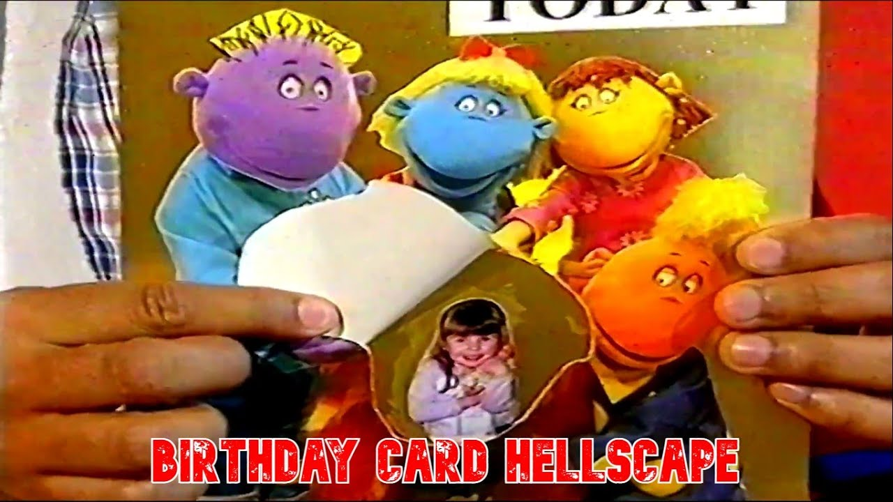 Birthday Card Hellscape