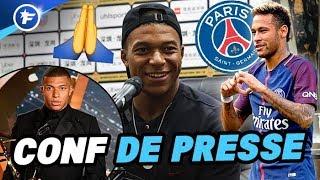 Kylian Mbappé s'excuse après sa sortie médiatique aux trophées UNFP et prend position pour Neymar