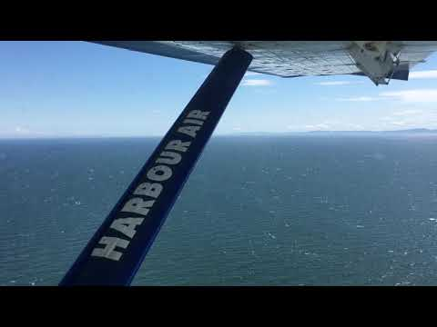 Harbour Air Full Flight From Nanaimo Harbour Vancouver Harbour