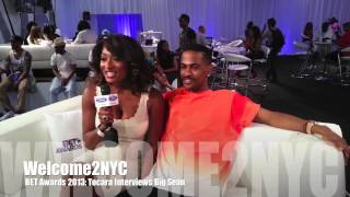 Big Sean FLIRTS With Toccara...Wants To TAKE HER FOR A RIDE!! (BET Awards 2013) Interview