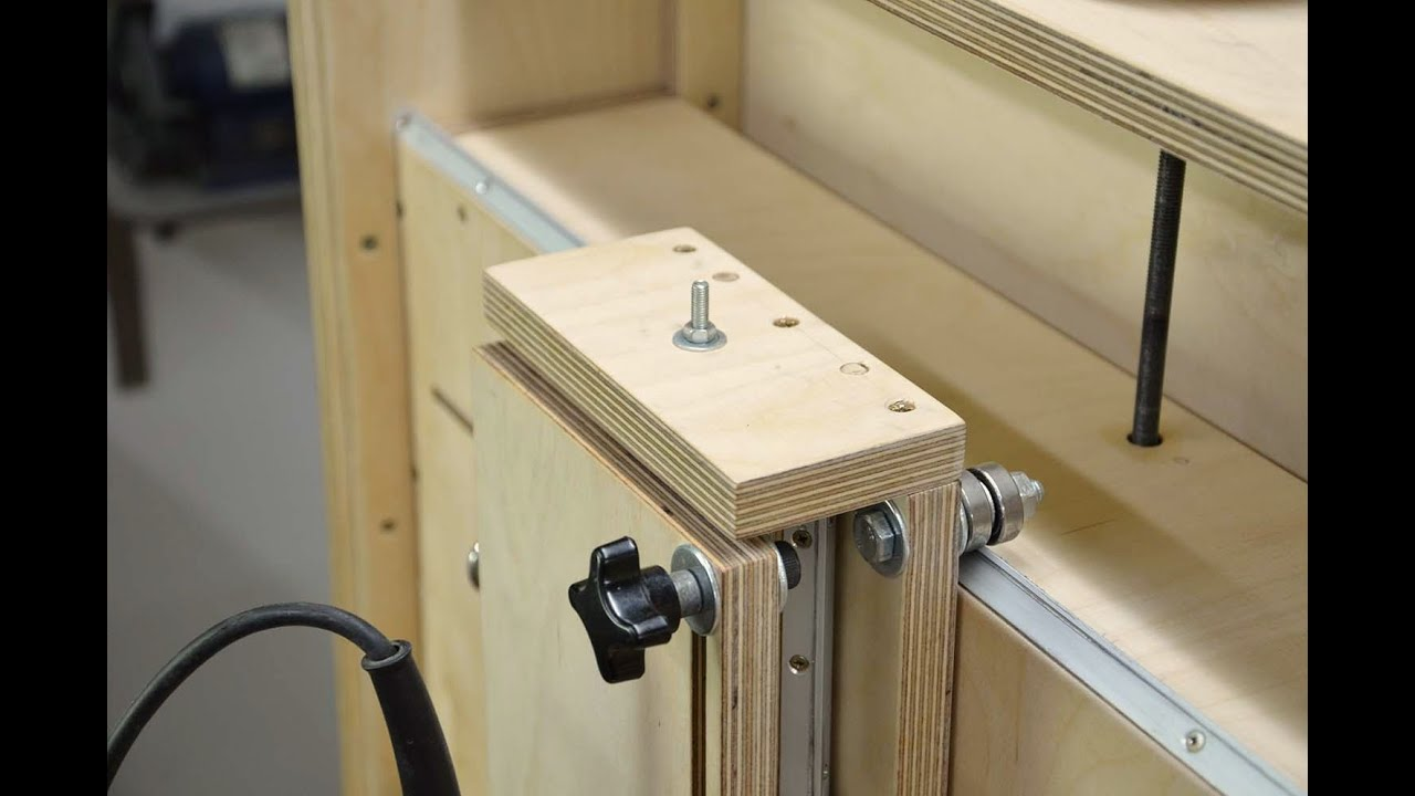 Add Router Table To Table Saw