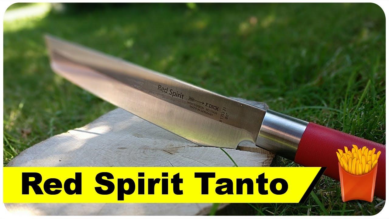 Kochmesser Red Spirit Tanto 🔪 - YouTube
