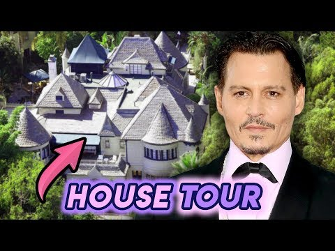 Johnny Depp | House Tour 2020 | Bahamas Islands, French Village and Hollywood Hills Properties!!