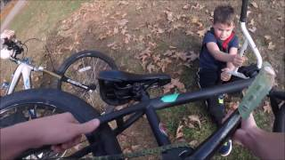 Lil Guy Steals My Bike