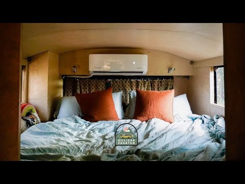 Installing and Testing a Mini Split AC in a Bus Conversion: How Many Do You Need? Ep 51