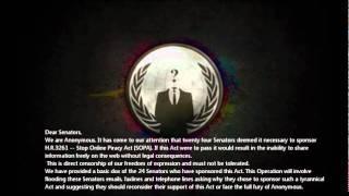 Anonymous Operation Mayhem: Phase 1: Protect The IP