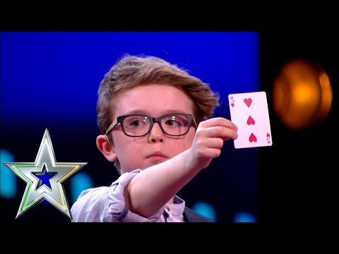 9 year old Magician Aidan wins over the judges! | Irelands Got Talent