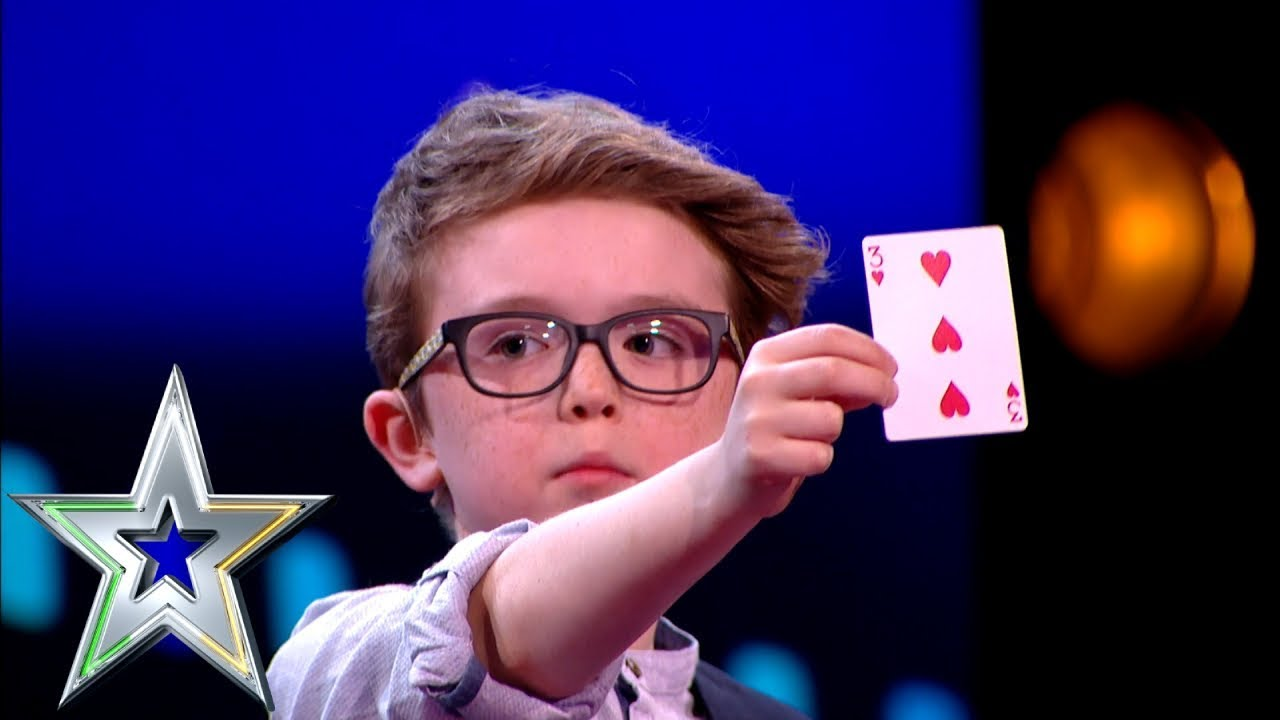 Download 9 year old Magician Aidan wins over the judges!   Ireland's Got Talent