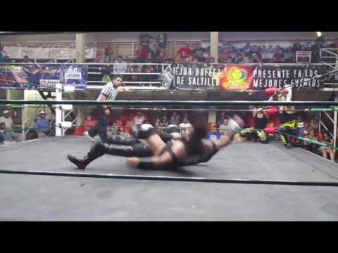 Destructores y Ninja Jr vs Latin Warrior´s y Epydemius