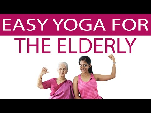 Easy Yoga for Elderly Senior Citizens | Seated Exercises for Older Adults | Yogalates with Rashmi