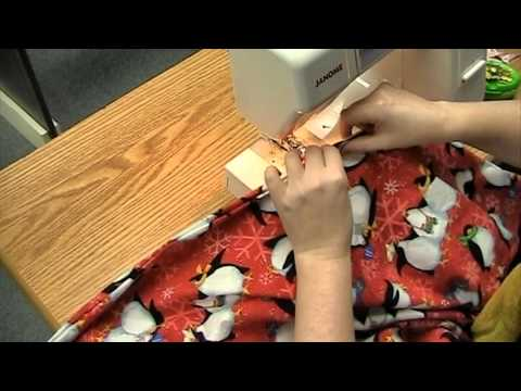 Make A Baby Blanket In Under An Hour!