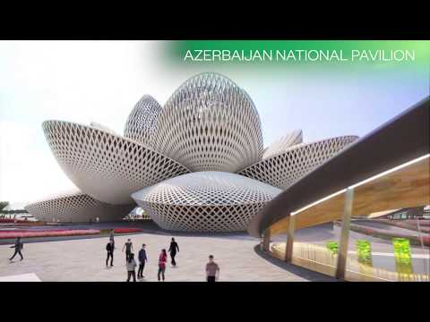The Site of World Expo 2025 Baku