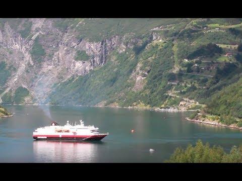 Trollstigen and Geirangerfjord in Geiranger, Norway