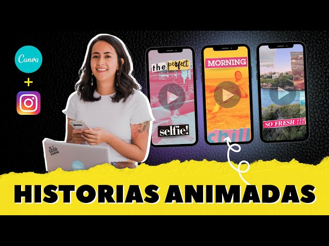 3 IDEAS CREATIVAS para crear HISTORIAS ANIMADAS de Instagram con Efecto Collage (Gratis en Canva)