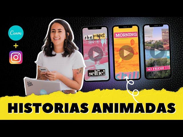 3 IDEAS CREATIVAS para crear HISTORIAS ANIMADAS de Instagram con Efecto Collage (Gratis en Canva)