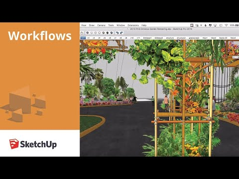 Exhibit Design: Philadelphia Flower Show Workflow