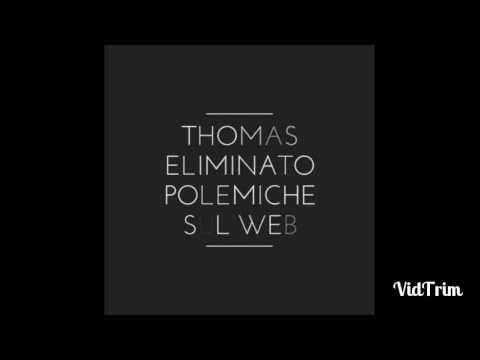 Thomas Bocchimpani eliminato polemiche sul web!