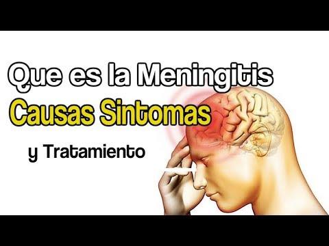 Que es la Meningitis Causas Sintomas y Tratamiento
