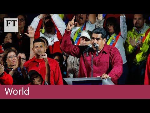Maduro wins 'sham' election in Venezuela