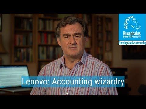 Lenovo #1: Accounting Wizardry