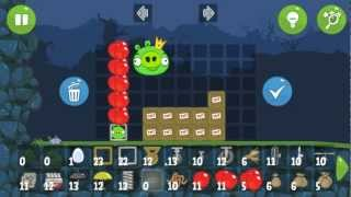 Bad Piggies Falls in Field of Dreams