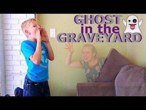 GHOST In The GRAVEYARD!