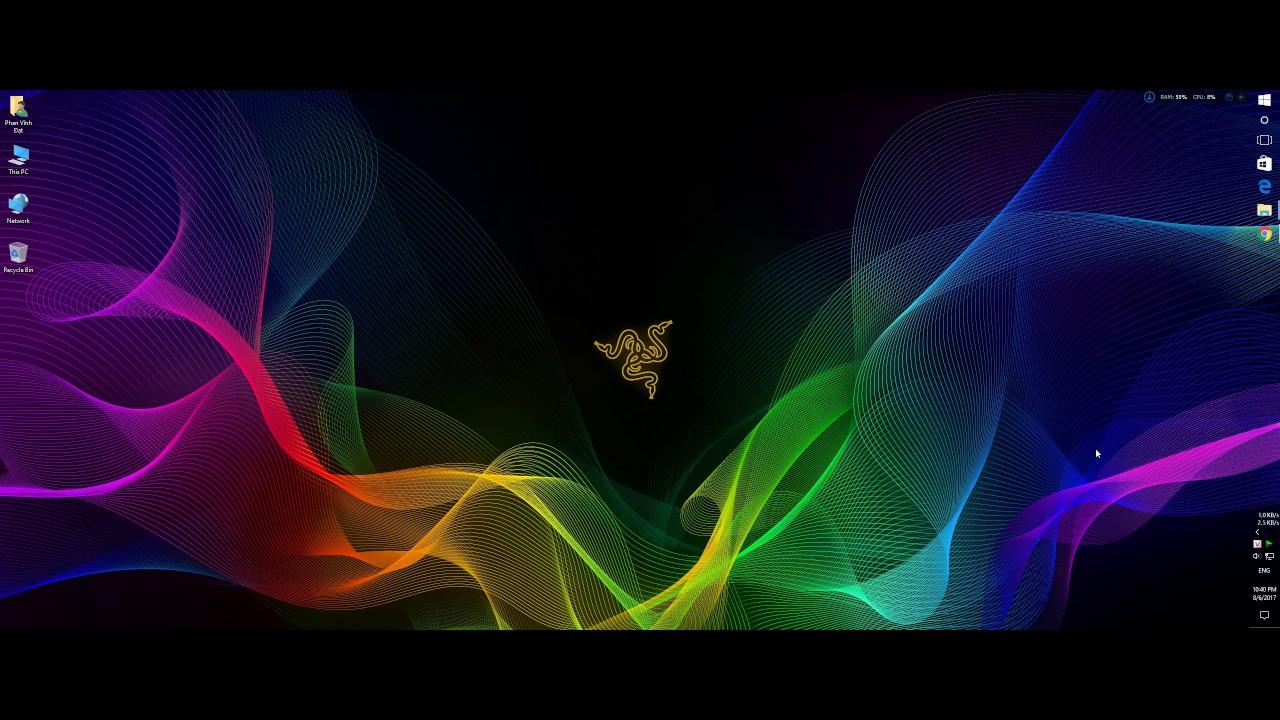 Razer Chroma RGB Live Wallpaper - YouTube