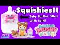 SMOOSHY MUSHY BABY BOTTLES! - SQUISHIES!