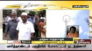 Tamilisai Soundararajan about the death of Gandhian and social activist Sasi Perumal spl video news 31-07-2015