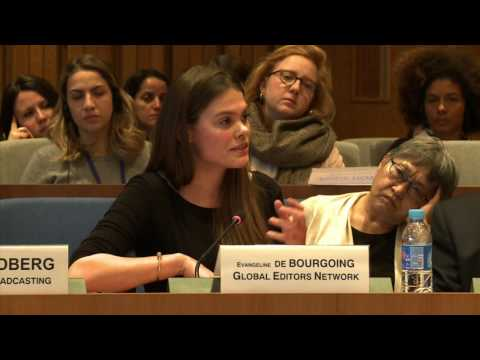 Panel 3- Evangelina de Bourgoing, Director of Programmes, Global Editors Network