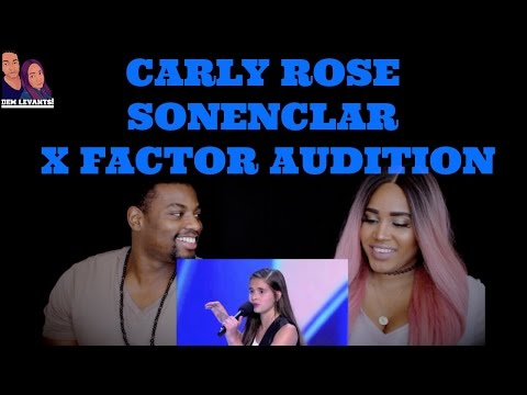Carly Rose Sonenclar X Factor Audition - Reaction