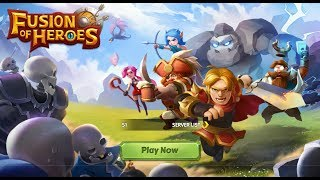 Fusion of Heroes - Android Gameplay