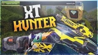 NEW Hunter XT Release (Caught A Gold Box!) - [Tanki X Road To Legend]